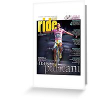 RIDE Cycling Review Issue 24 - Marco Pantani Greeting Card