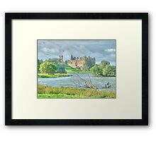 Linlithgow Palace HDR Framed Print