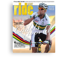 RIDE Cycling Review Issue 46 Canvas Print