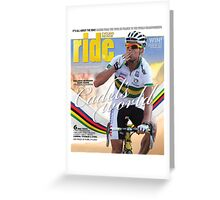 RIDE Cycling Review Issue 46 Greeting Card