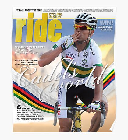 RIDE Cycling Review Issue 46 Poster