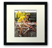 RIDE Cycling Review Issue 42 Framed Print