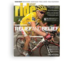 RIDE Cycling Review Issue 42 Canvas Print