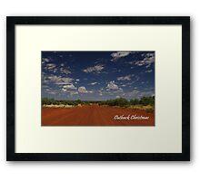Outback Christmas Framed Print