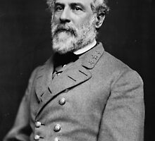 Portrait of Confederate General Robert E. Lee (1864) by allhistory