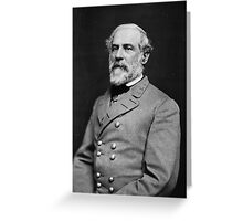 Portrait of Confederate General Robert E. Lee (1864) Greeting Card