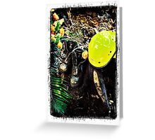 Black Saturday - Touched by Fire Greeting Card
