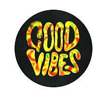 Good Vibes - Rasta  by Daniel Watts