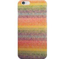 Rainbow Zig Zags  iPhone Case/Skin