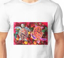 Turtles in a fruit salad Unisex T-Shirt