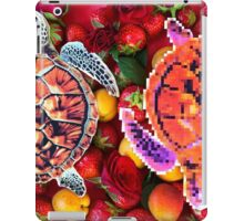 Turtles in a fruit salad iPad Case/Skin
