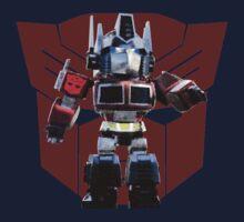 Transformers optimus prime deformed Kids Tee