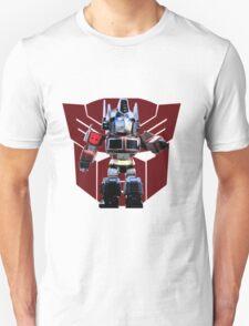 Transformers optimus prime deformed Unisex T-Shirt