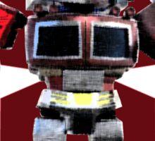 Transformers optimus prime deformed Sticker