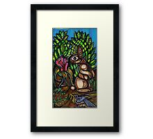 Walter Anderson and Me No 1 Framed Print