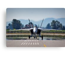 Fighter Jet Canvas Print