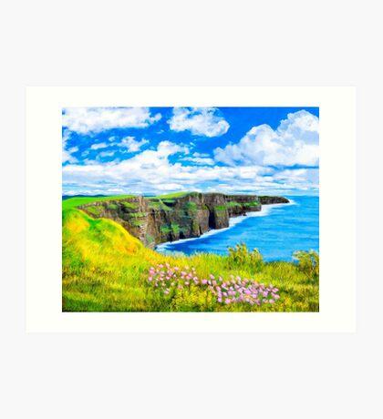 Cliffs of Moher - Fairytale Ireland Art Print