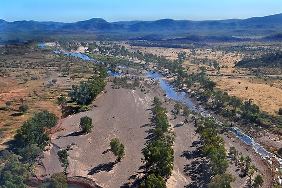 Finke River by mspfoto