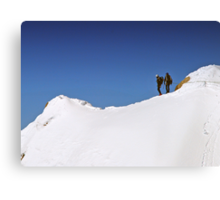 Two Climbers Canvas Print