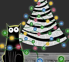 Paper Christmas Tree by Andrew  Hitchen