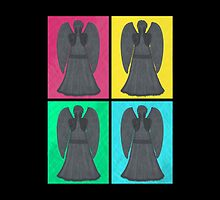 Weeping Angels Pop Art by Lenka24