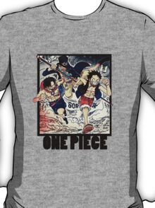 One Piece - Sabo, Ace and Rufy T-Shirt
