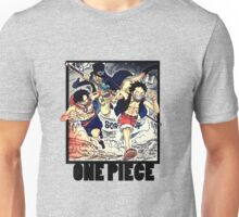 One Piece - Sabo, Ace and Rufy Unisex T-Shirt