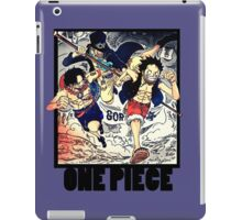 One Piece - Sabo, Ace and Rufy iPad Case/Skin