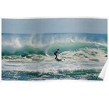 Australia Surfer Poster