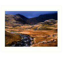 Upper Eskdale - The Lake District Art Print