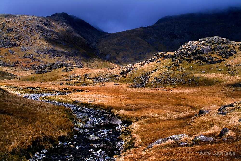 Upper Eskdale - The Lake District by Dave Lawrance
