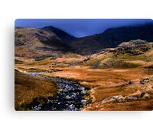 Upper Eskdale - The Lake District Canvas Print
