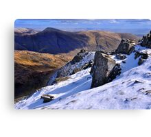 Ill Bell from Red Screes - The Lake District Canvas Print