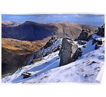 Ill Bell from Red Screes - The Lake District Poster