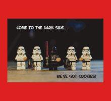 Dark Side Cookies One Piece - Short Sleeve