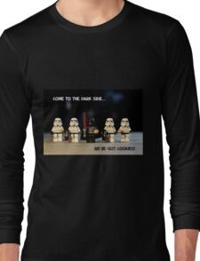 Dark Side Cookies Long Sleeve T-Shirt