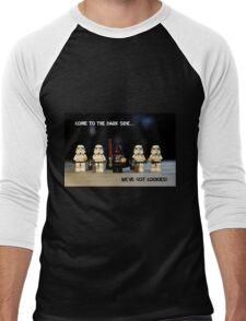 Dark Side Cookies Men's Baseball ¾ T-Shirt