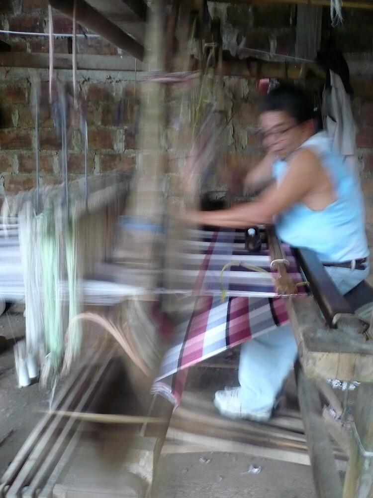The Hammock Weaver by Caroline Cage