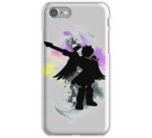 Super Smash Bros Dark Pit Silhouette iPhone Case/Skin
