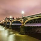 WESTMINSTER BRIDGE LONDON by Scott  d'Almeida