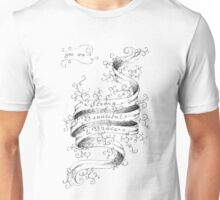 Strong, Beautiful, Brave. Unisex T-Shirt
