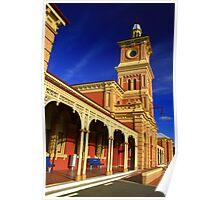 Albury Railway Station. Poster