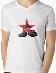 80's Heroes Mens V-Neck T-Shirt