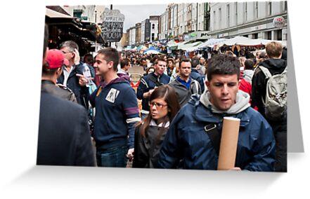 The Crush at Portobello Market, London, UK.  by DonDavisUK