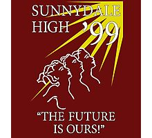 Sunnydale High Yearbook Photographic Print