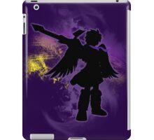 Super Smash Bros Purple Dark Pit Silhouette iPad Case/Skin