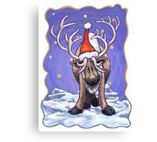 Reindeer Christmas Canvas Print