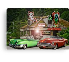 Buzzard Bar And Grill Parker, Florida Canvas Print