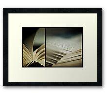 the book club Framed Print