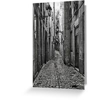 Alleyway Greeting Card